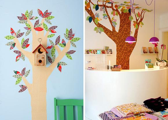 Как сделать дерево самому в детскую