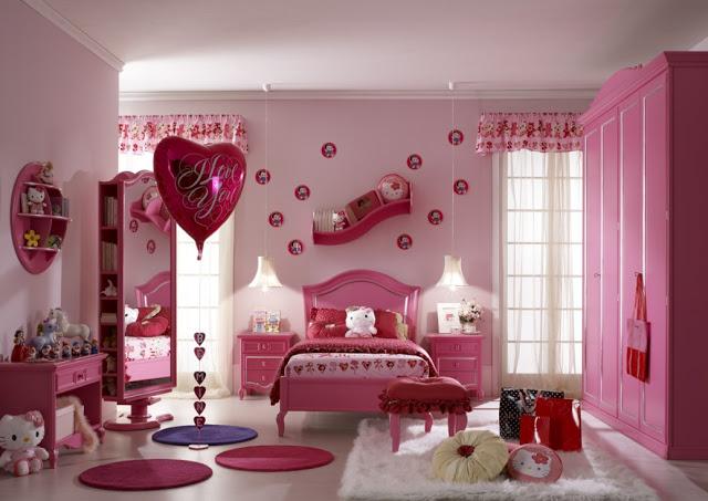 Как сделать красивую комнату для девочек